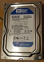 Жесткий диск Western Digital Caviar Blue 320GB 7200prm 8MB WD3200AAJS 3.5 SATAII (б/у)