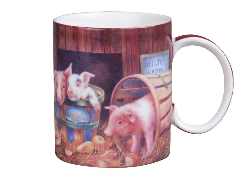 Чашка Lefard Поросята на ферме 280мл 924-319