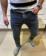 Мужские джинсы темные модные молодежные стильные весна лето 2021