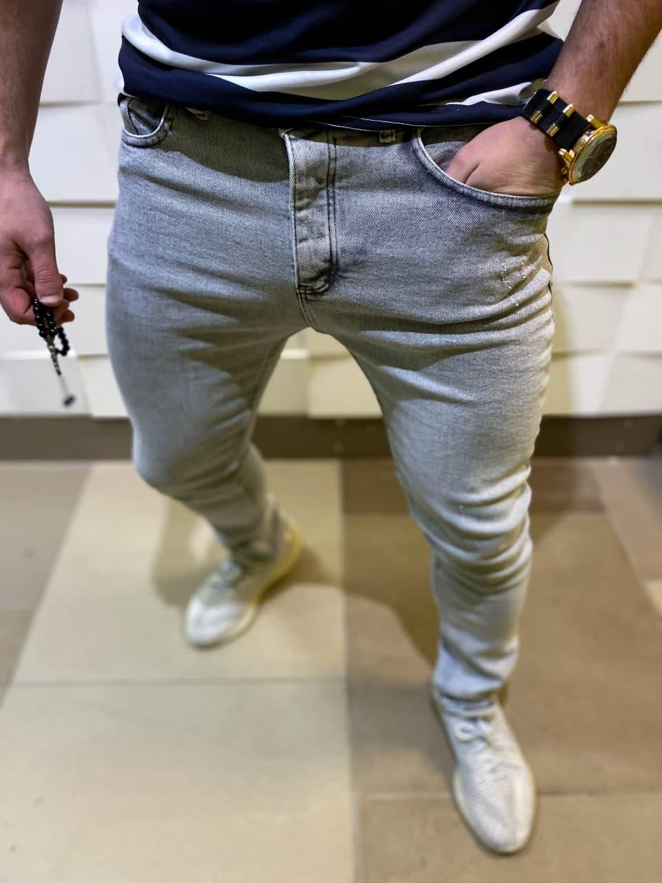 Чоловічі джинси модні весна завужені джинси
