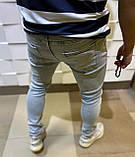 Чоловічі джинси модні весна завужені джинси, фото 2
