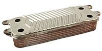 Теплообменник вторичный АНАЛОГ Vaillant atmoTEC pro/atmoTEC plus turboTEC pro/turboTEC plus.   код: 0020020018