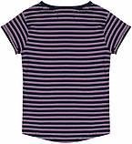 Детская футболка в полоску для девочек 9-18 мес, 74-86 см Minoti, 74-80 см, фото 2