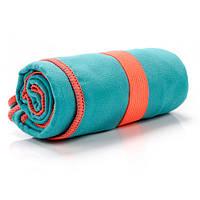 Быстросохнущее полотенце Meteor Towel 80х130 см Бирюзовое (m0088)