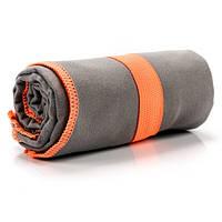 Быстросохнущее полотенце Meteor Towel 110х175 см Серое (m0093)