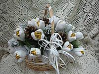 Букет из конфет Зимняя свежесть, фото 1