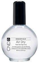 CND Air Dry – Быстросохнущий закрепитель, придающий эффект керамической глазури.