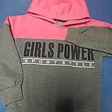 Костюм спортивный модный оригинальный красивый нарядный для девочки.Размер 140 рост., фото 2