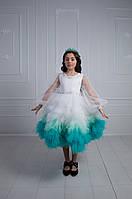 Дитяча святкова сукня 👑 SPRING WHITE 👑 - детское нарядное платье, фото 1