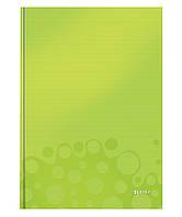 Тетрадь А4 Leitz WOW, 80 листов  глянцевый зеленый 46261064