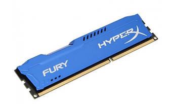 Оперативна пам'ять HyperX DDR3-1600 4096MB PC3-12800 FURY Blue (HX316C10F/4)
