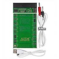 Плата активації і зарядки акумуляторів AIDA A-602+ з цифр. інд. (4G - X, HUAWEI,LENOVO,VIVO,MI,ZTE; кабелі