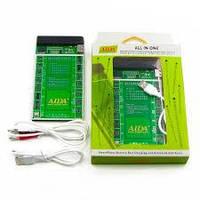 Плата активации и зарядки аккумуляторов AIDA A-600 с цифр. инд. (4G/4S/5G/5S/6G/6P/6S/6SP/SE/7G/7P; кабели