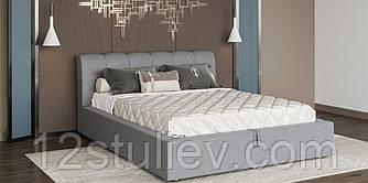 Мягкая кровать Каролина 6 с подъемным механизмом  Свит Меблив 160*200