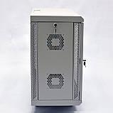 Шкаф 12U, 600х350х640 мм (Ш * Г * В), акриловое стекло, серый, фото 5