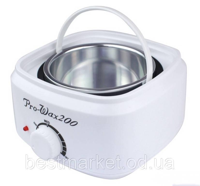 Воскоплав Баночний Pro Wax 200 Нагрівач для Гарячого Воску