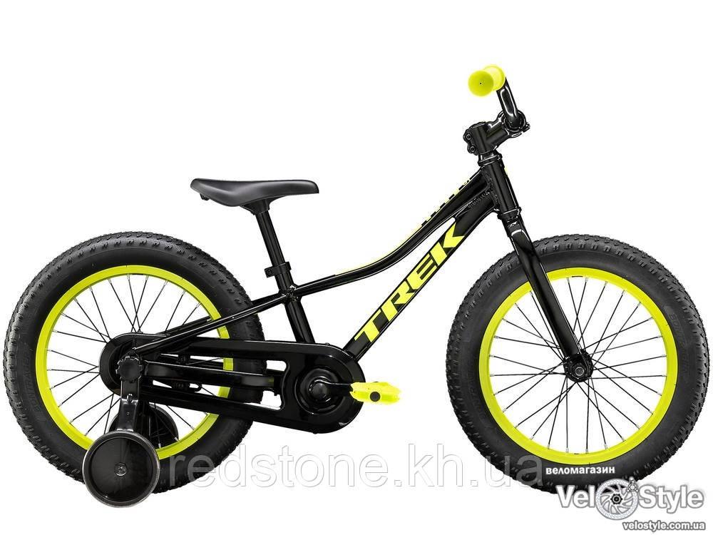 Велосипед TREK PRECALIBER 16 BOYS CB черный колеса 16¨