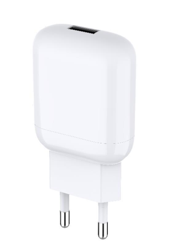 Мережевий зарядний пристрій Jellico C22 (1USBx2.1A) White (RL058167) + кабель USB Type-C