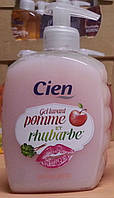 Жидкое мыло Cien Pomme te Rhubarbe (Яблоко и Ревень)