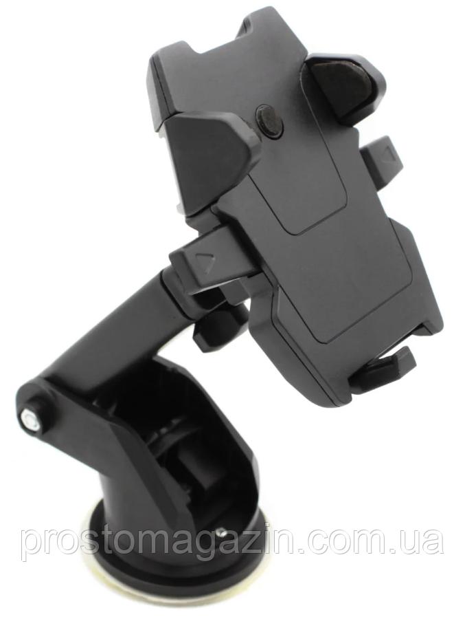 Автодержатель для телефона в автомобиль телескопический Car Mount Green