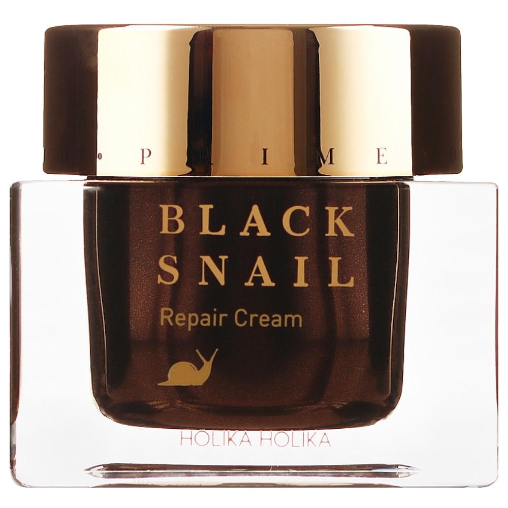 Крем для обличчя з муцином чорного равлика Holika Holika Prime Youth Black Snail Repair Cream 50 мл
