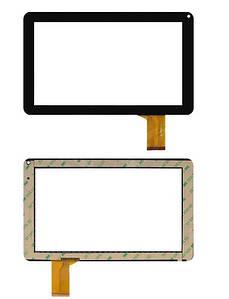 Оригинальний Сенсор (Тачскрин) для планшета Allwinner A13 Q9 | A23 | A33 (233*141) 50 pin (Черный)