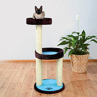 Напольный игровой комплекс-когтеточка для кошек Trixie Lugo