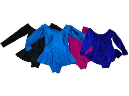 Купальники для художественной гимнастики с юбкой.