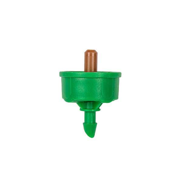 Крапельниця з компенсацією тиску, 8 л/ч, вихід 5мм, NO-DRAIN, DSE-PCND08
