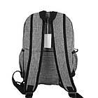 Легкий рюкзак міський Venlice з прогумованими замками, фото 3