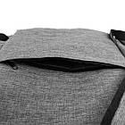 Легкий рюкзак міський Venlice з прогумованими замками, фото 4