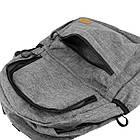 Легкий рюкзак міський Venlice з прогумованими замками, фото 5