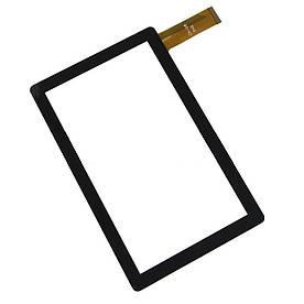 "Оригинальний Сенсор (Тачскрин) для планшета 7"" Allwinner Q8 30 pin (186х111mm)(Черный)"