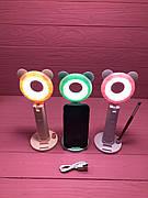 Селфи лампа с ушками Y2, 8 см.
