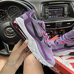 Жіночі кросівки Nike Air Max 270 React Violet (фіолетові)