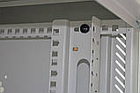 Шкаф 12U, 600х500х640 мм (Ш * Г * В), акриловое стекло, серый, фото 5