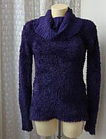 Свитер женский зимний теплый красивый бренд Blind Date  р.46 4359
