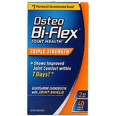 Остео Bi-Flex, Здоров'я суглобів, потрійна сила, 40 таблеток в оболонці
