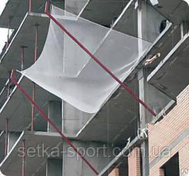 Защитно-Улавливающая Сетка (полиамид Ø3 мм, безузловая) - 3,5 х 6 м (ячейка 40*40 мм)