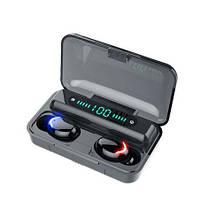 Наушники Bluetooth 5,0 TWS сенсорная гарнитура power bank черные