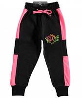 Трикотажные спортивные штаны для девочек. 7-10 лет  Турция