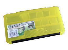 Коробка для приманок КДП-2 (230х115х35мм) жовта