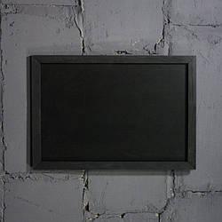 Меловая доска в рамке горизонтально 1500х800  мм Меню для кафе, заведения. Рекламное меню, меловая доска меню