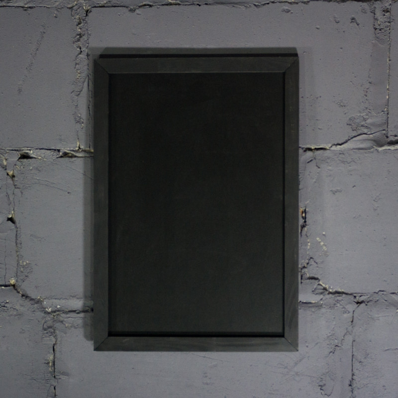 Меловая доска в рамке вертикально 1500х800  мм Меню для кафе, заведения. Рекламное меню, меловая доска для мен