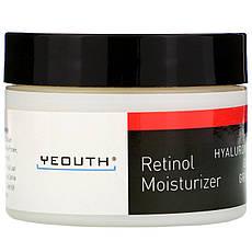 Yeouth, Зволожуючий крем з ретинолом і гіалуронової кислотою, женьшенем і зеленим чаєм, 30 мл (1 рідин та си. унції)