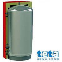 Теплоаккумулятор отопления  500 л вертикальная с изоляцией