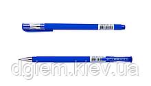 Ручка гелевая FOCUS, RUBBER TOUCH 0,5мм синяя