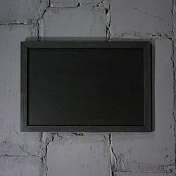 Меловая доска в рамке горизонтально 1700х900 мм Меню для кафе, заведения. Рекламное меню, меловая доска меню