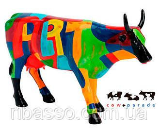 "Колекційна статуетка корова ""Art of America"", Size L Cow Parade (Парад Корів)"