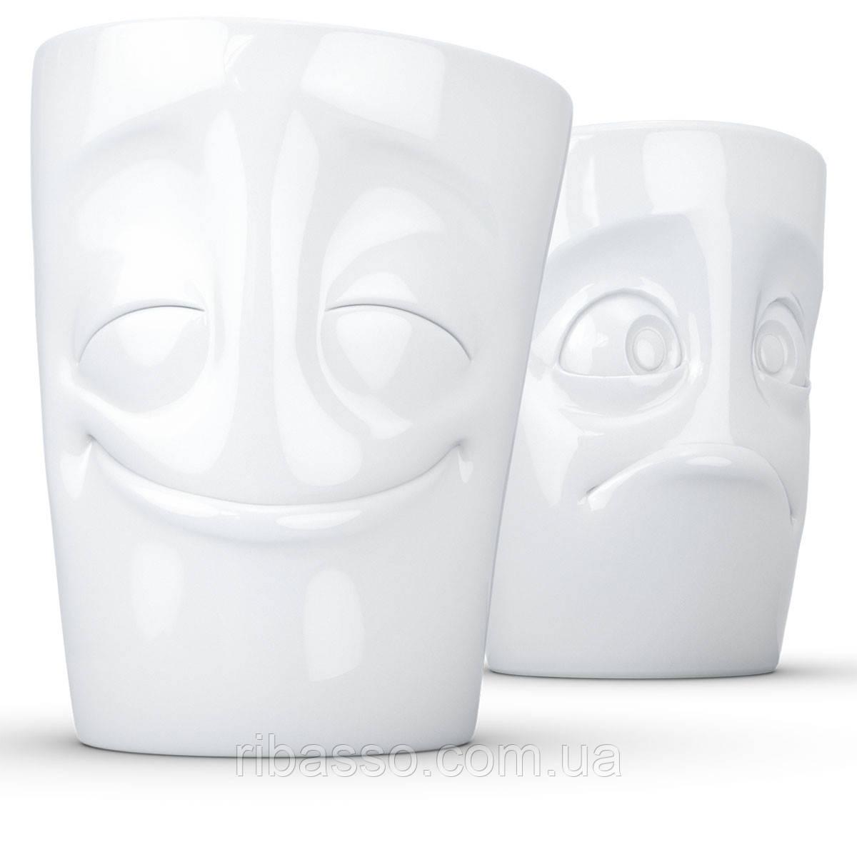 Набор Tassen Весельчак и Скромняга из двух фарфоровых чашек (350 мл)